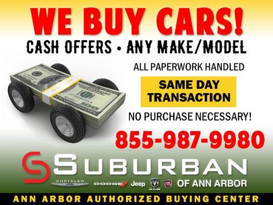 Suburban Ann Arbor >> Suburban Chrysler Dodge Jeep Ram Of Ann Arbor Car Dealership