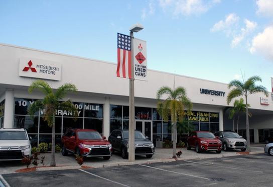 University Mitsubishi car dealership in DAVIE, FL 33328-5303 ...