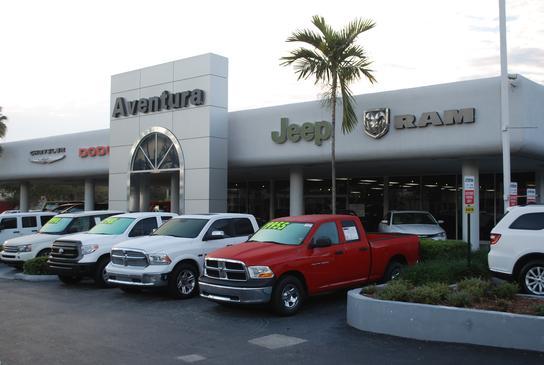 aventura chrysler jeep dodge ram car dealership in north miami beach