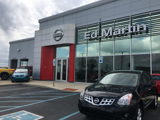 Ed Martin Nissan of Fishers car dealership in FISHERS, IN 46038-3500
