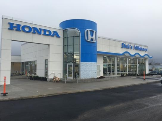 Dicks Hillsboro Honda >> Dick S Hillsboro Honda Car Dealership In Hillsboro Or 97123 3808