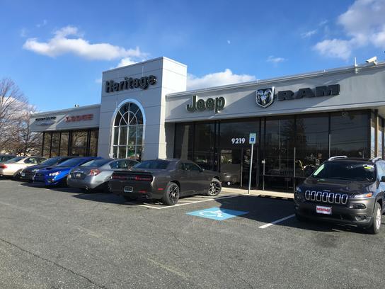 Dodge Dealers In Md >> Heritage Chrysler Dodge Jeep Ram Volkswagen Parkville Car