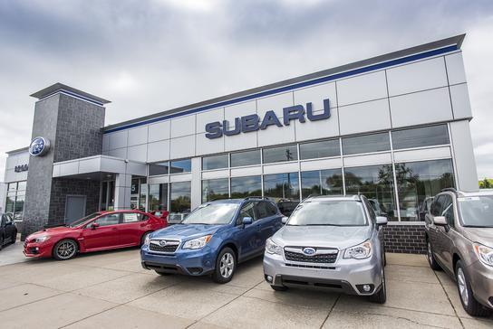 Subaru Dealers Minneapolis >> Morrie S Brooklyn Park Subaru Car Dealership In Minneapolis