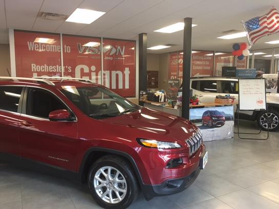 Jeep Dealers Rochester Ny >> Vision Dodge Chrysler Jeep Ram Car Dealership In Rochester Ny 14625