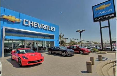 Glendale Car Dealers >> Allen Gwynn Chevrolet Car Dealership In Glendale Ca 91204 Kelley