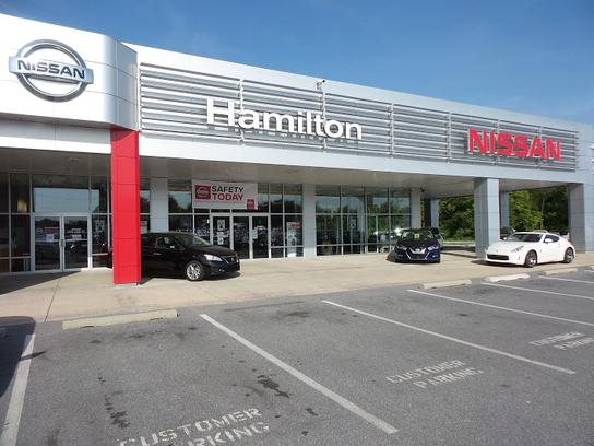 Hamilton Nissan car dealership in Hagerstown, MD 21740 | Kelley Blue