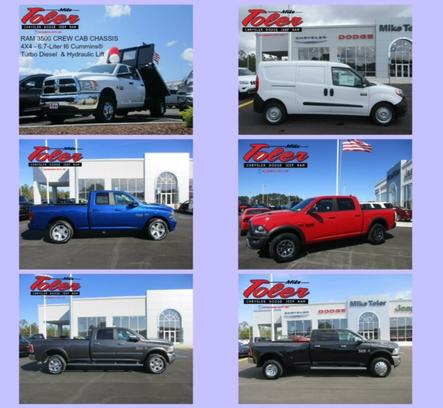 Mike Toler Chrysler Dodge Jeep RAM FIAT 3