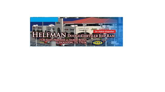 Helfman Dodge Chrysler Jeep Ram