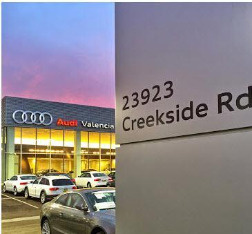 Audi Valencia Car Dealership In Valencia Ca 91355 1703 Kelley