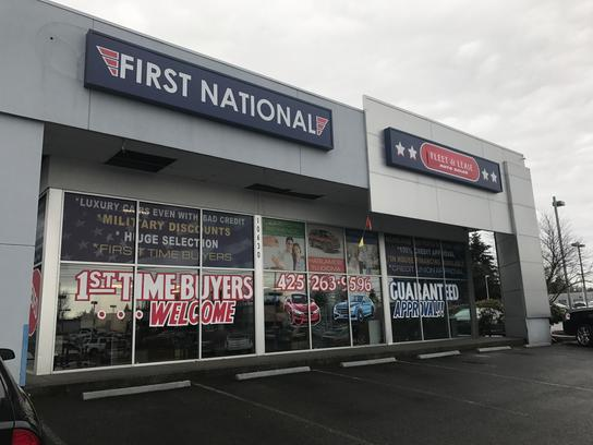 First National Auto >> First National Auto Sales Everett Car Dealership In Everett Wa