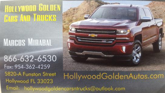 Hollywood Golden Cars And Trucks 3