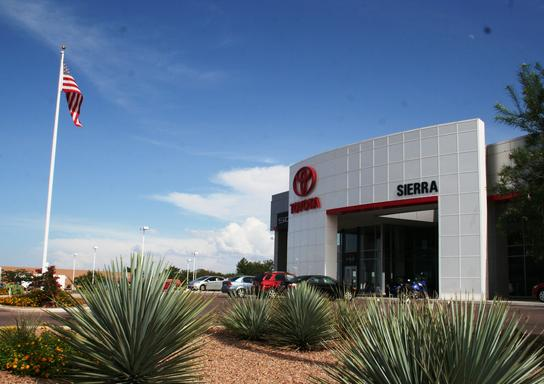Sierra Toyota Car Dealership In Sierra Vista Az 85635 Kelley Blue
