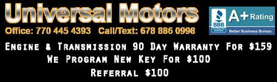 Universal Motors Dallas GA (OPEN 7 DAYS)