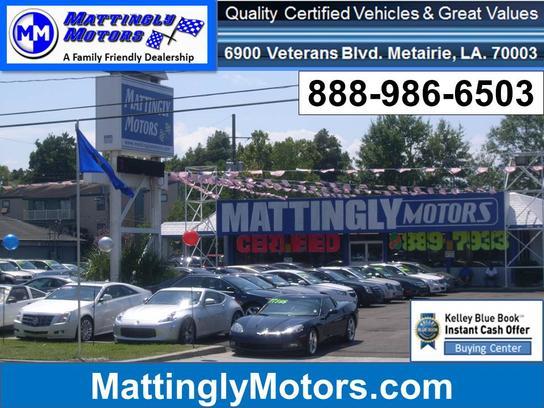 mattingly motors car dealership in metairie la 70003 5308 kelley blue book. Black Bedroom Furniture Sets. Home Design Ideas
