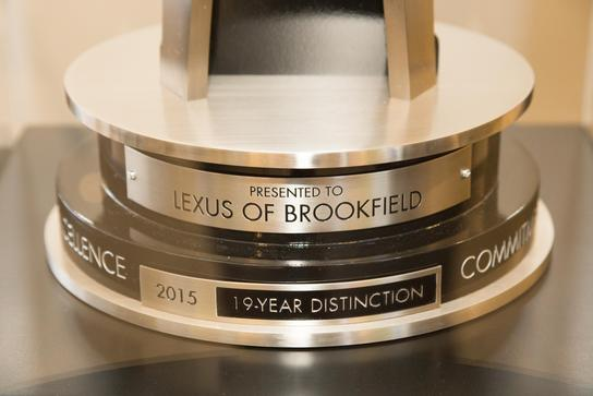 Lexus of Brookfield 3