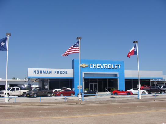 Norman Frede Chevrolet Car Dealership In Houston Tx 77058 Kelley