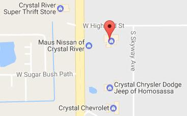 Maus Nissan of Crystal River 1