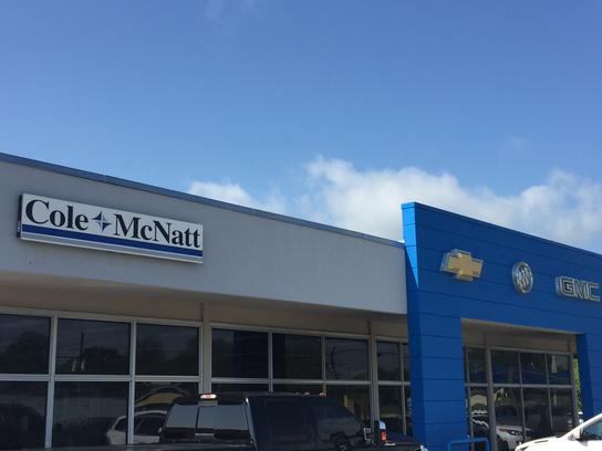 cole mcnatt chevrolet buick gmc car dealership in gainesville tx 76240 2013 kelley blue book. Black Bedroom Furniture Sets. Home Design Ideas