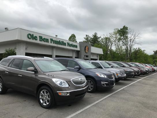 Ole Ben Franklin Motors Oak Ridge