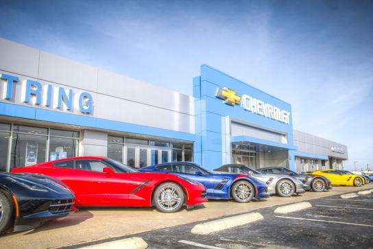 Uftring Chevrolet car dealership in Washington IL