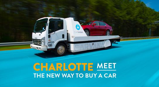 carvana car dealership in charlotte nc 28269 7649 kelley blue book. Black Bedroom Furniture Sets. Home Design Ideas