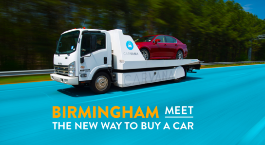 Carvana Birmingham (As Soon as Next Day Delivery)