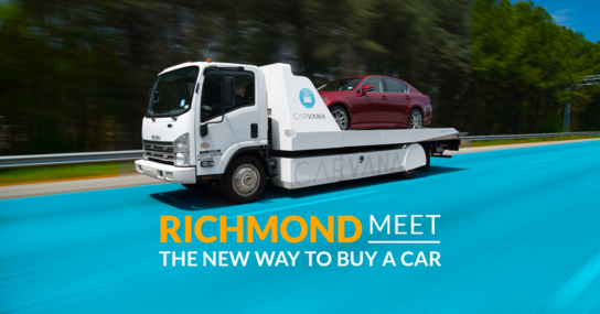 Carvana Richmond (As Soon as Next Day Delivery)