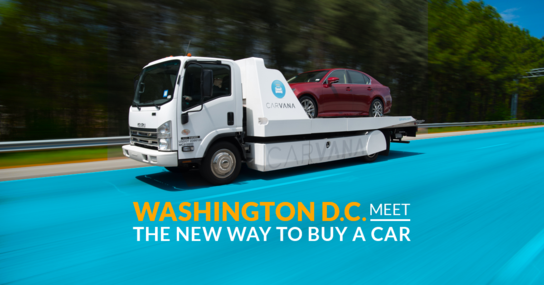 Carvana Washington DC (As Soon as Next Day Delivery)