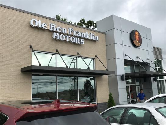 Ole Ben Franklin Motors Alcoa