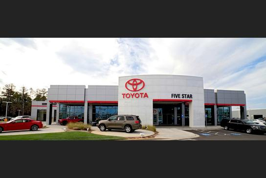 Five Star Toyota >> About Five Star Toyota Of Milledgeville In Milledgeville Ga 31061