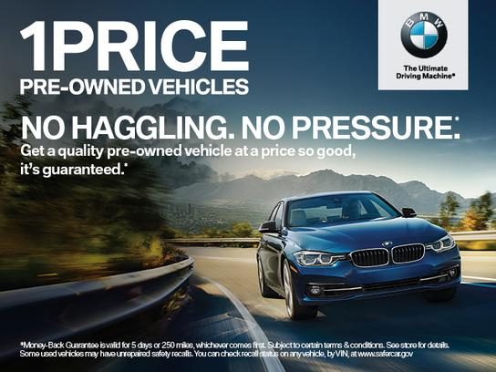 BMW of The Woodlands car dealership in The Woodlands TX 77384