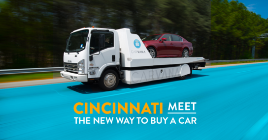 Carvana Cincinnati (As Soon as Next Day Delivery)