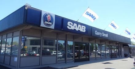 Garry Small Saab