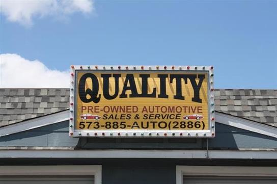 Quality Preowned Automotive