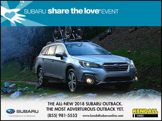 Kendall Subaru of Eugene, Oregon