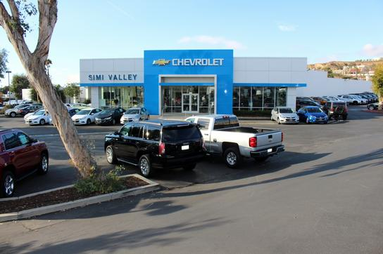 Simi Valley Chevrolet car dealership in SIMI VALLEY, CA 93065-1930