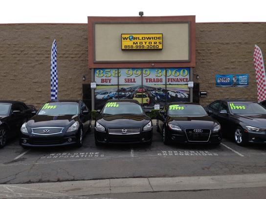 World Wide Motors >> Worldwide Motors Car Dealership In San Diego Ca 92126 4576 Kelley