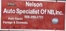 Nelson's Auto Specialists