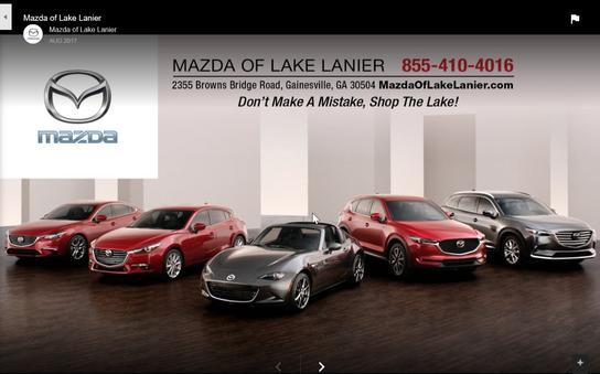 Mazda Of Lake Lanier Car Dealership In GAINESVILLE, GA 30504 6054   Kelley  Blue Book