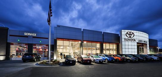 Larry H Miller Spokane >> Larry H Miller Downtown Toyota Spokane Car Dealership In Spokane