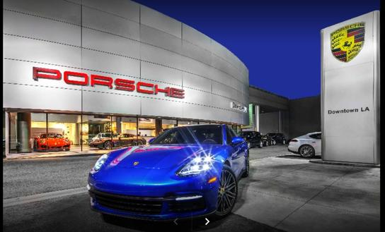 Porsche Downtown LA