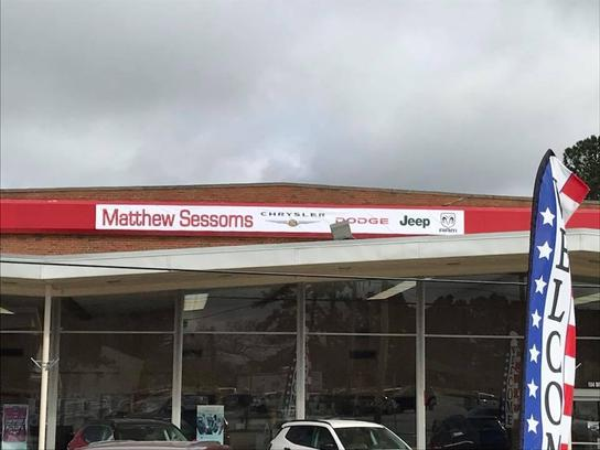 Matthew Sessoms Chrysler Dodge Jeep Ram