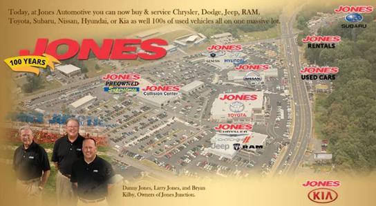 Dealership Photos | Map | Services U0026 Amenities. Jones Junction