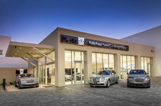 Rolls Royce Dealers >> Rolls Royce Motor Cars Orange County Car Dealership In