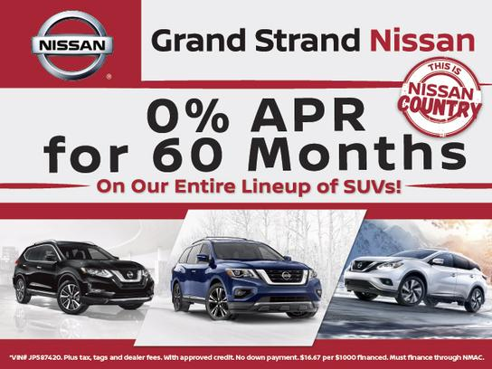 Grand Strand Nissan >> Grand Strand Nissan Car Dealership In Myrtle Beach Sc 29579