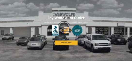 Jay Wolfe Automotive Outlet- Northland