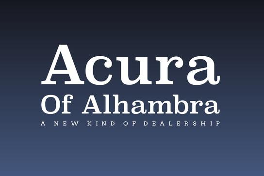 Acura of Alhambra 1