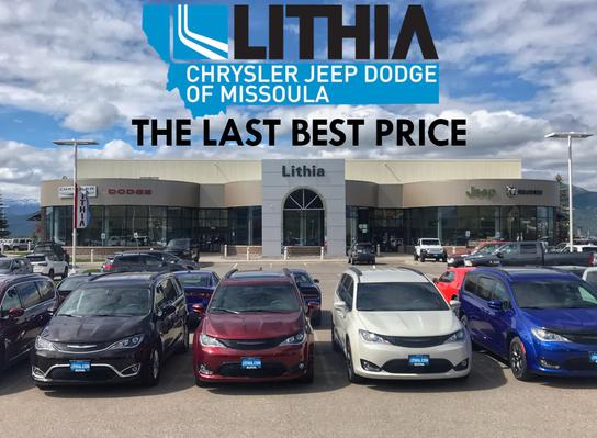 Lithia Chrysler Jeep Dodge >> Lithia Chrysler Jeep Dodge Ram Of Missoula Car Dealership In