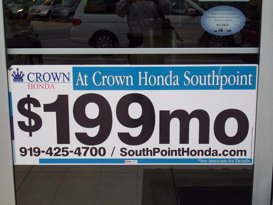 Crown Honda of Southpoint 1
