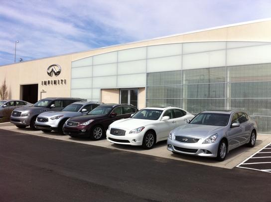 new opened to be magazine publish dealer car infiniti infinity centre cambridge in